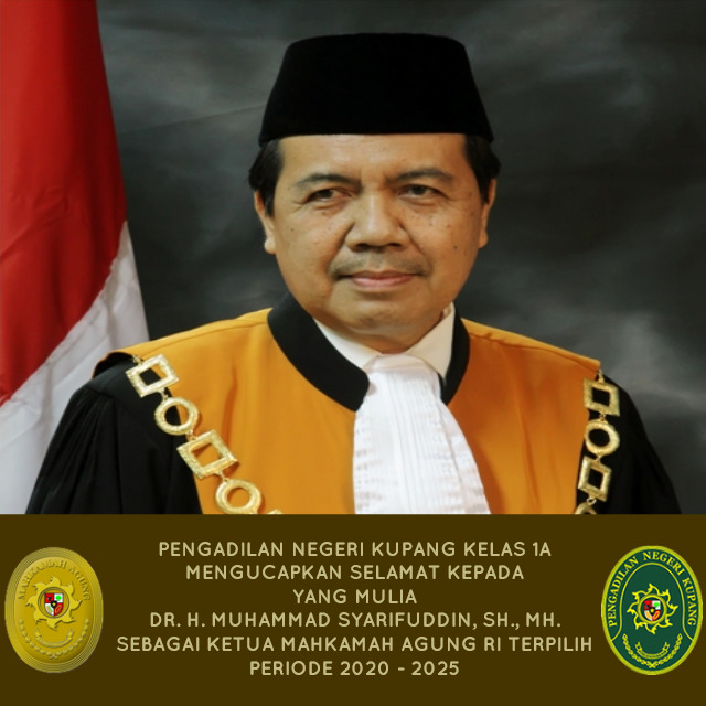 Ketua Mahkamah Agung RI terpilih periode 2020-2025