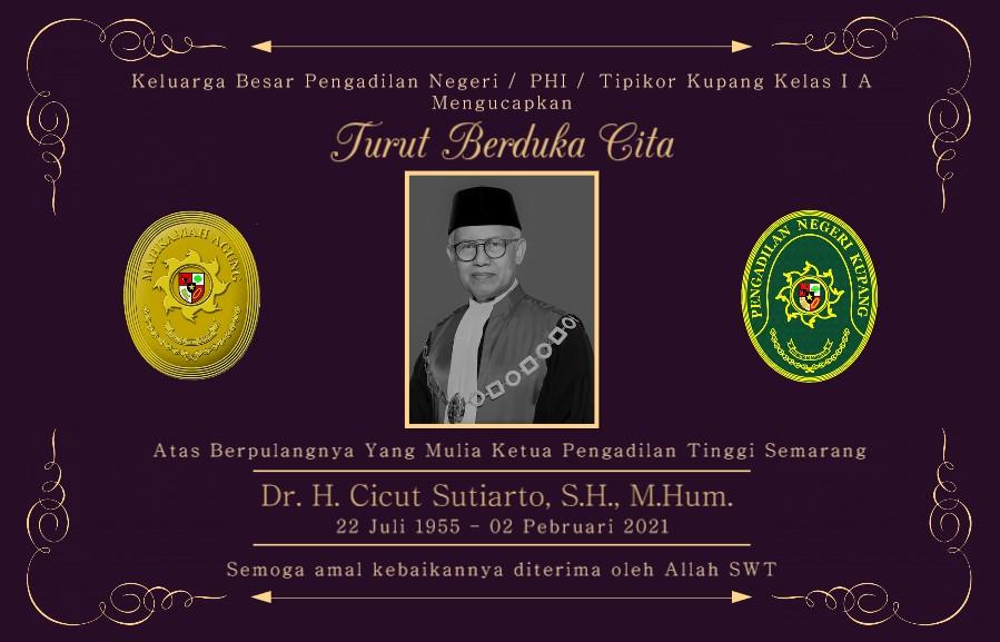 Turut Berduka Atas Berpulangnya Ketua Pengadilan Tinggi Semarang