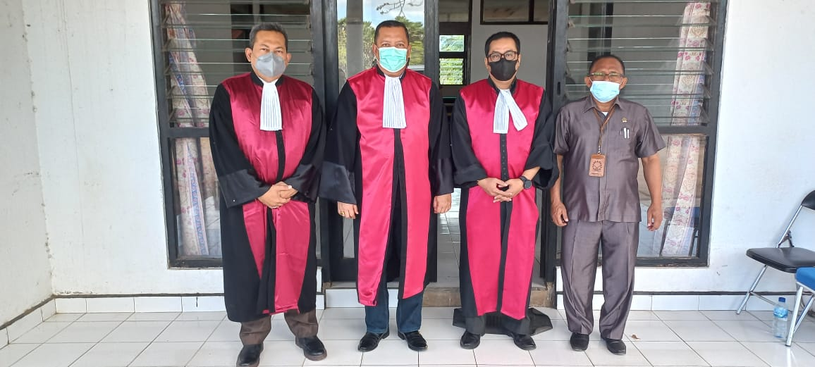 Lanjutan Sidang Pidana di Gedung Zitting Plaats Sabu Raijua