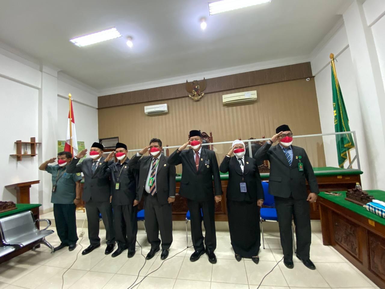 Upacara Virtual Peringatan HUT ke-76 Kemerdekaan Republik Indonesia