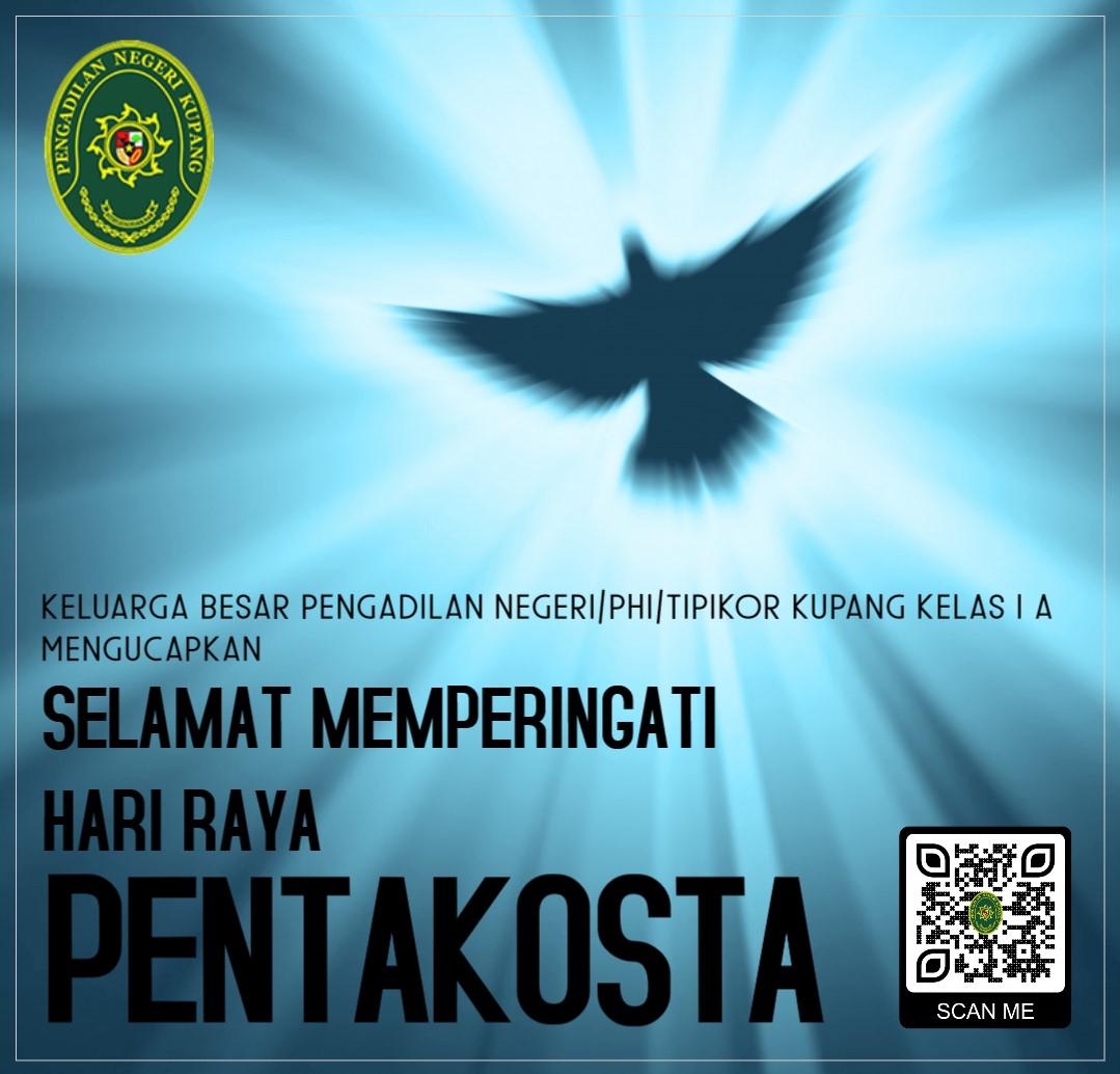 Selamat Memperingati Hari Raya Pentakosta